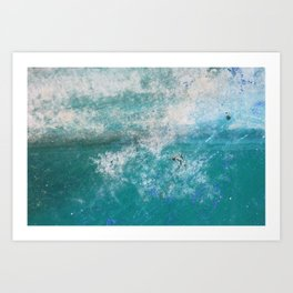 Into the Ocean - JUSTART © Art Print