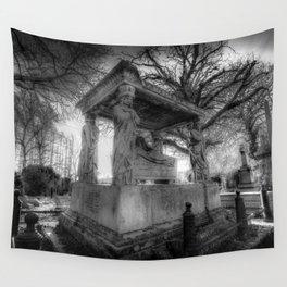 Kensal Green Cemetery London Wall Tapestry