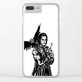 The Crow: Eric Draven Clear iPhone Case