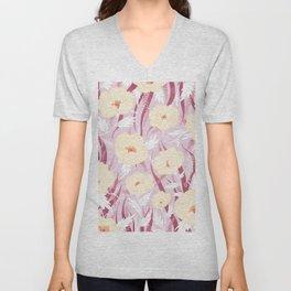 Spring Blooming Unisex V-Neck