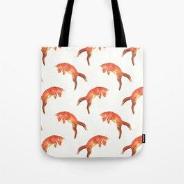 Pouncing Fox Tote Bag