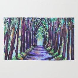Kauai Tree Tunnel Rug