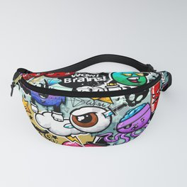 graffiti fun Fanny Pack