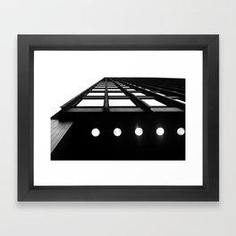 Industrial Beams Framed Art Print