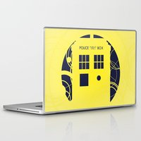 doctor who Laptop & iPad Skins featuring Doctor Who by LukeMorgan