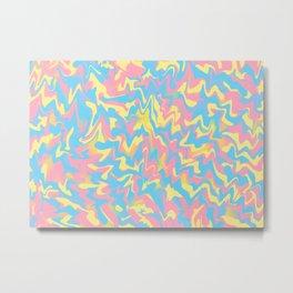 Vanilla Chewing Gum Metal Print