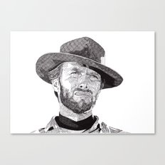 Clint II Canvas Print