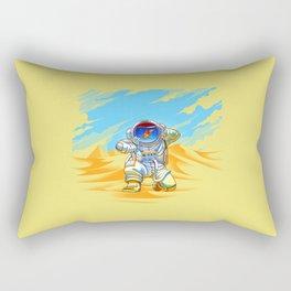 Adventure Goes Wrong Rectangular Pillow