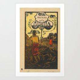 Noa Noa (Fragrant, Fragrant) Art Print