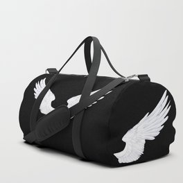 White Angel Wings Duffle Bag