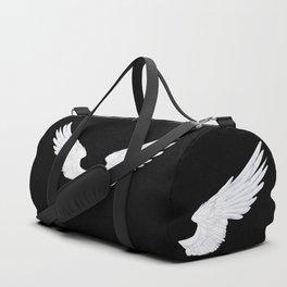 White Angel Wings Duffle Bag