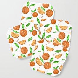 Happy Oranges Coaster