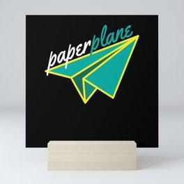 Paperplane Origami Hobby Mini Art Print