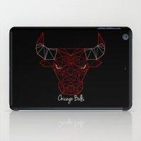 chicago bulls iPad Cases featuring Chicago Bulls by latiife