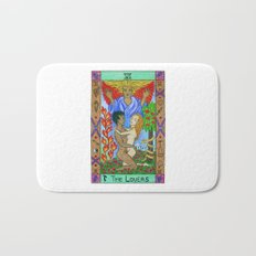 The Lovers - Tarot Bath Mat