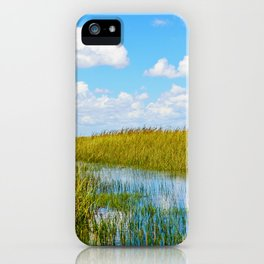 Florida Welands iPhone Case