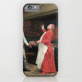 Jehan Georges Vibert - The Marvelous Sauce iPhone Case