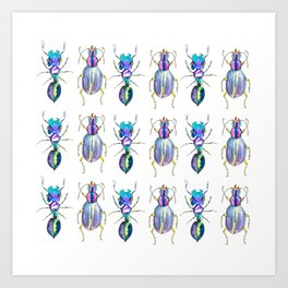 CREEPY CRAWLY Art Print