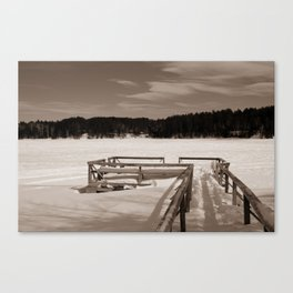 Overlooking Flagstaff Canvas Print