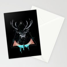 The Blue Deer Stationery Cards
