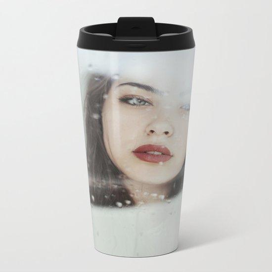 Rainy Metal Travel Mug