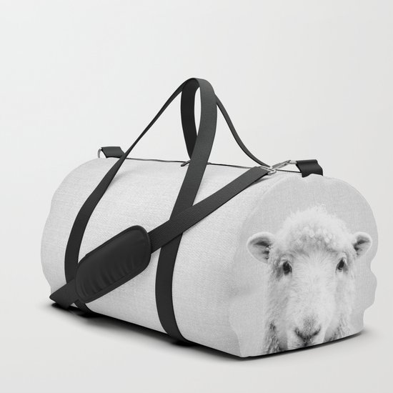 Sheep - Black & White by galdesign