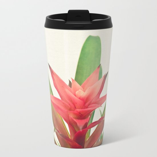 Bromelia Metal Travel Mug