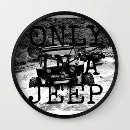 Jeeps Wall Clock