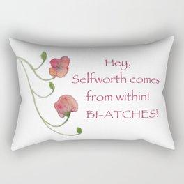 Self Worth Rectangular Pillow