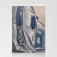 subaru Stationery Cards featuring Subaru Impreza by Craig Holland Illustration