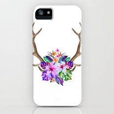Floral Horn Slim Case iPhone (5, 5s)
