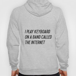 I play keyboard Hoody
