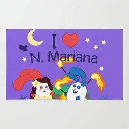 Ernest & Coraline | I love Northern Mariana Islands Rug