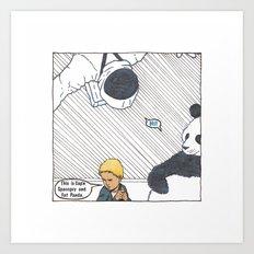 Ability to meet kids' imaginary friends Art Print
