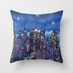 C2 & Posse (New-New York City) Throw Pillow