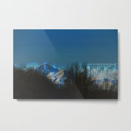 icy mountains Metal Print