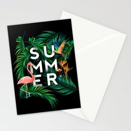 Summer Jungle Stationery Cards