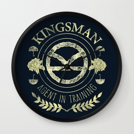 Agent In Training (Yellow) Wall Clock