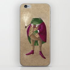 Herr Frosch iPhone & iPod Skin