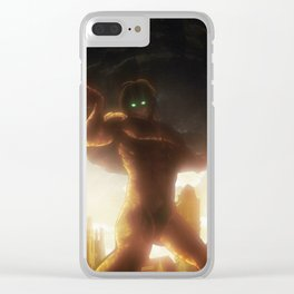 Attack On Titan Clear iPhone Case