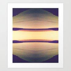 Sunset Design Art Print