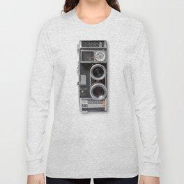 8mm Two Lens Camera Long Sleeve T-shirt