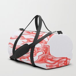 stag (white background) Duffle Bag