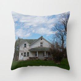 County K Throw Pillow