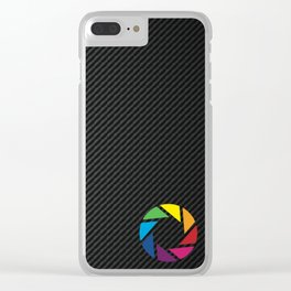 Carbon Fiber GraphicLab Clear iPhone Case