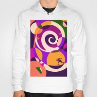 labyrinth Hoodies featuring Labyrinth  by Yvonne Muren