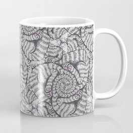 Aloof, a Cat Tessellation Coffee Mug