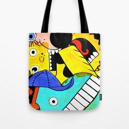 Glitterpuke Tote Bag