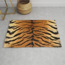 Faux Siberian Tiger Skin Design Rug