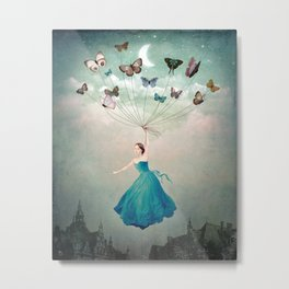 Leaving Wonderland Metal Print